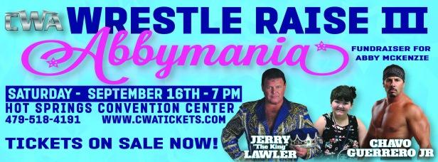 CWA Wrestle Raise III - Facebook Cover Photo