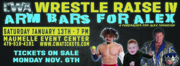 CWA Wrestle Raise IV - Facebook Cover Photo