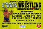 CWA Wrestle Raise II - Facebook Cover