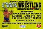 CWA Wrestle Raise II - Facebook Cover
