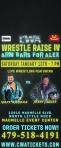 CWA Wrestle Raise IV - Door Hanger