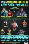 CWA Wrestle Raise IV - Poster