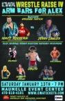 CWA Wrestle Raise IV - Poster