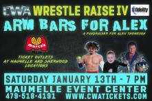 CWA Wrestle Raise IV - Post Card